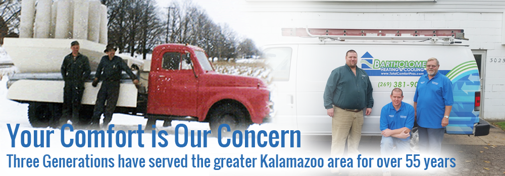 Bartholomew Heating & Cooling Has been a trusted Furnace contractor in Kalamazoo, MI for 57 years.